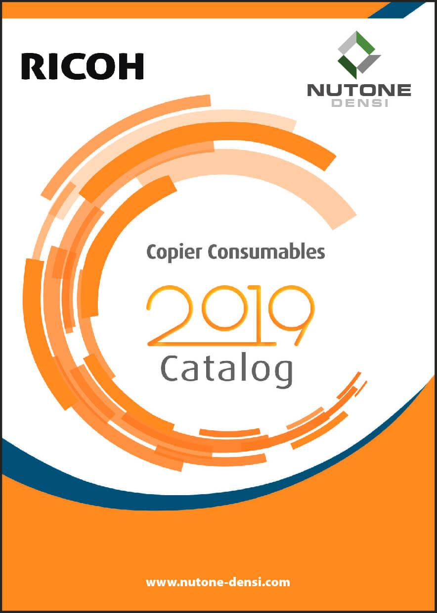 Copier Consumables Catalog Cover RICOH-10