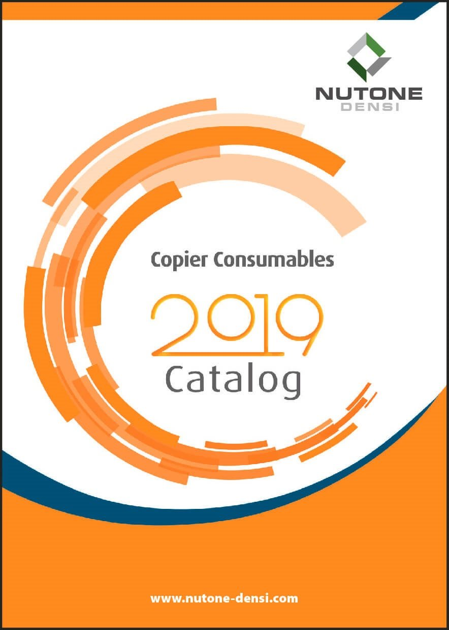 Copier Consumables Catalog Cover