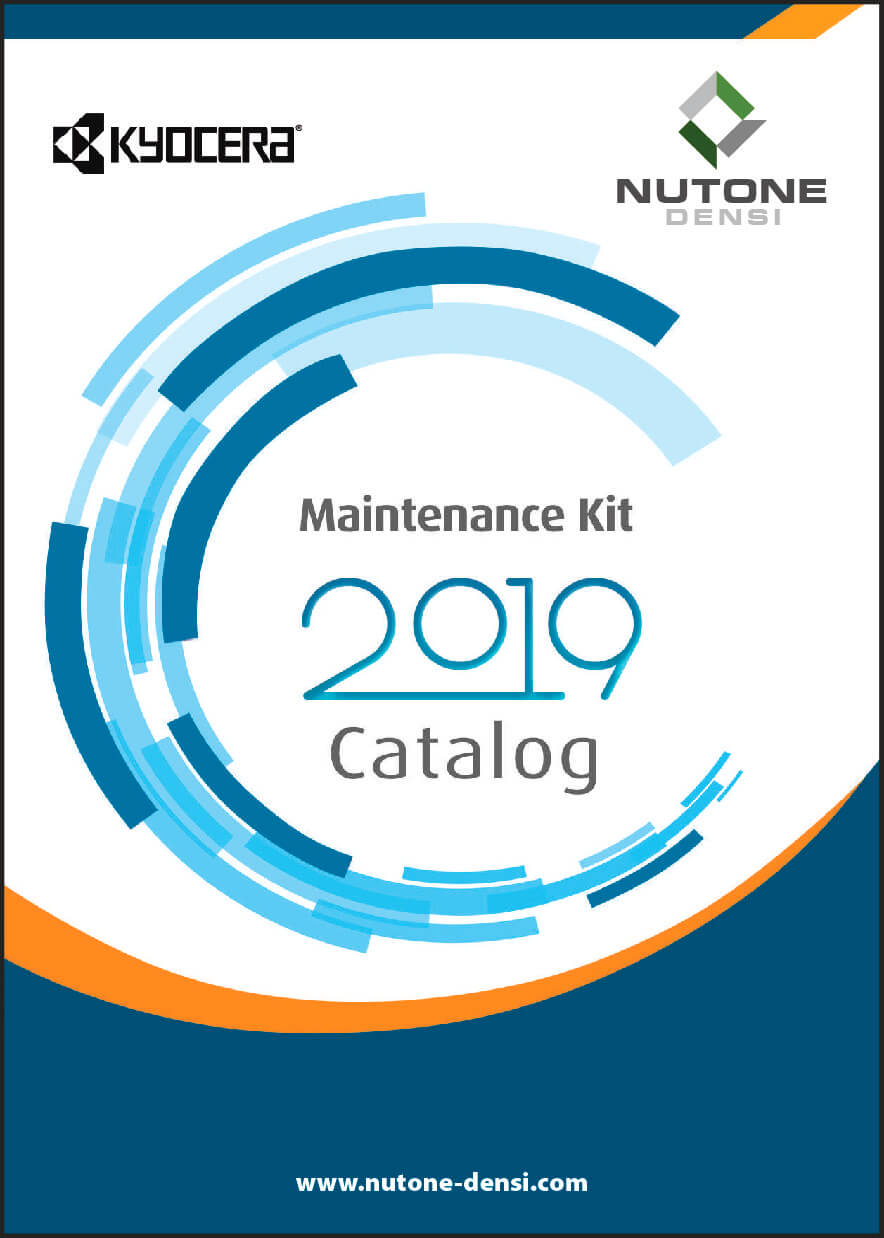 Maintenance Kit Catalog Cover KYOCERA