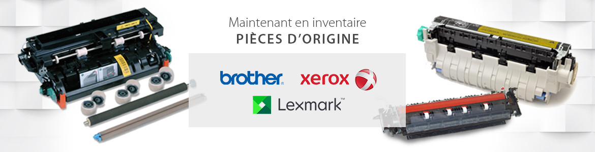 Pieces OEM Brother Lexmark Xerox